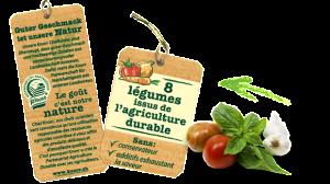 8 légumes issus de agric durable