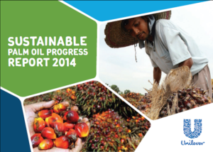 Palme -  Unilever Sustainable Palm oil - Progress report 2014