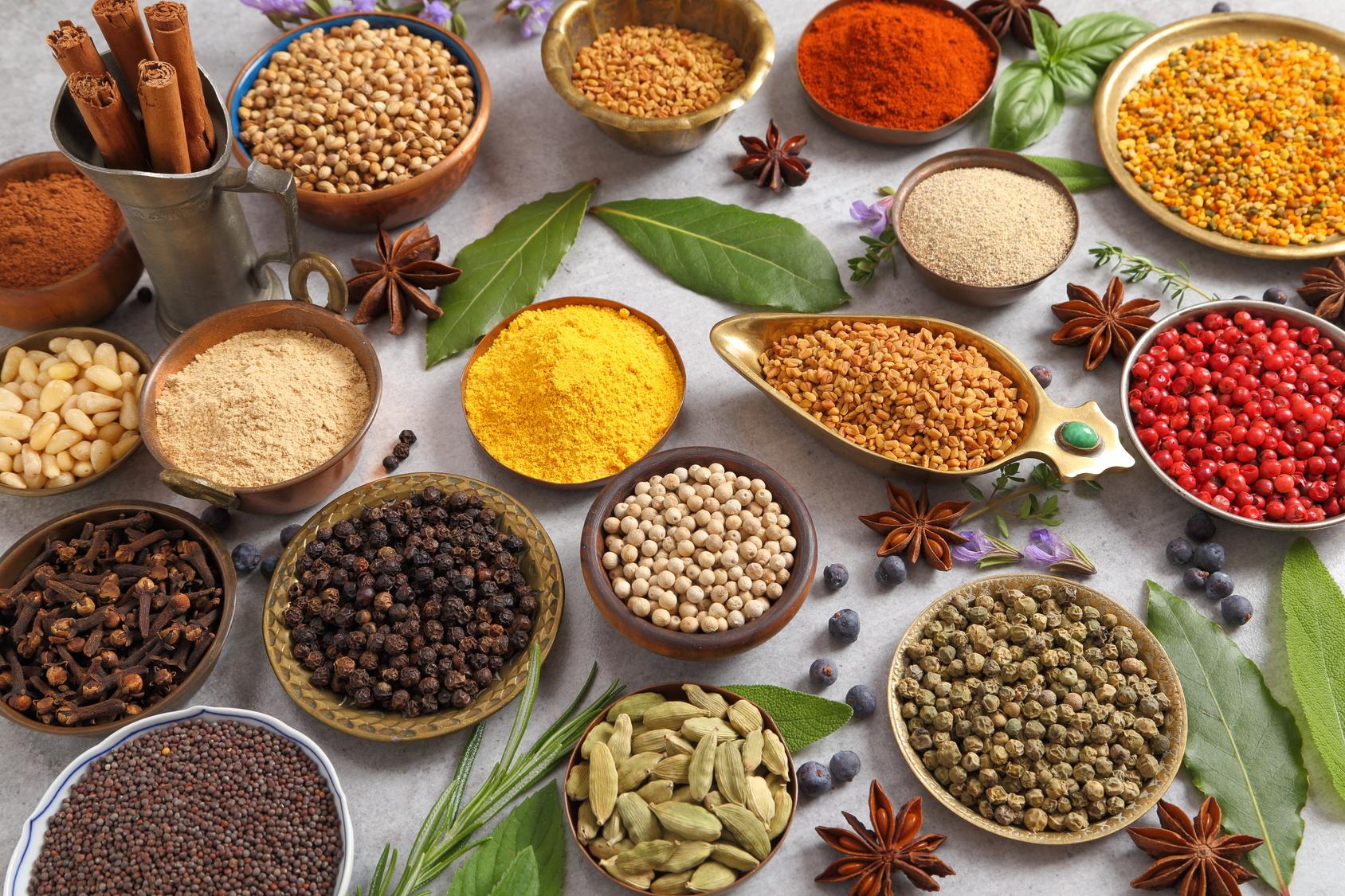 Epices 2 et assaisonnements Unilever Nutrition